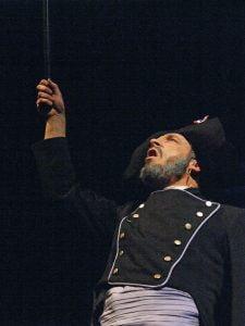 Craig Martin as Javert in Les Miserables.