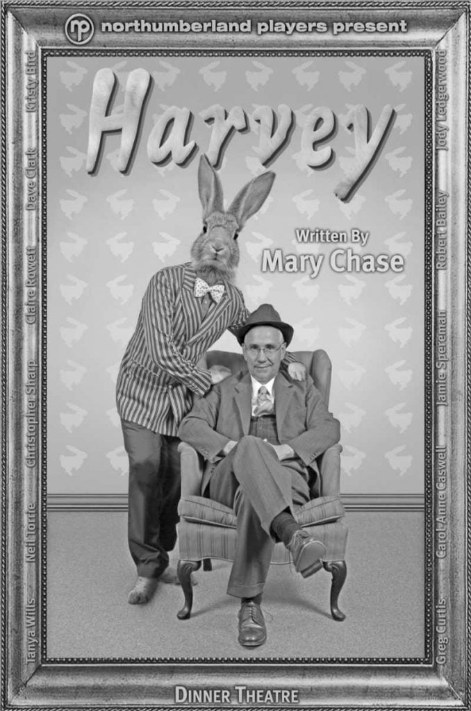 Bob Bailey on the poster for Harvey