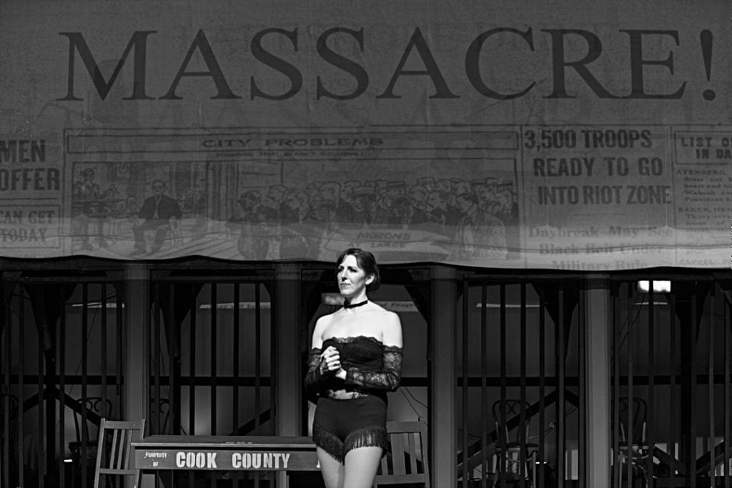 """Pavanne Hawkes in """"Chicago"""""""