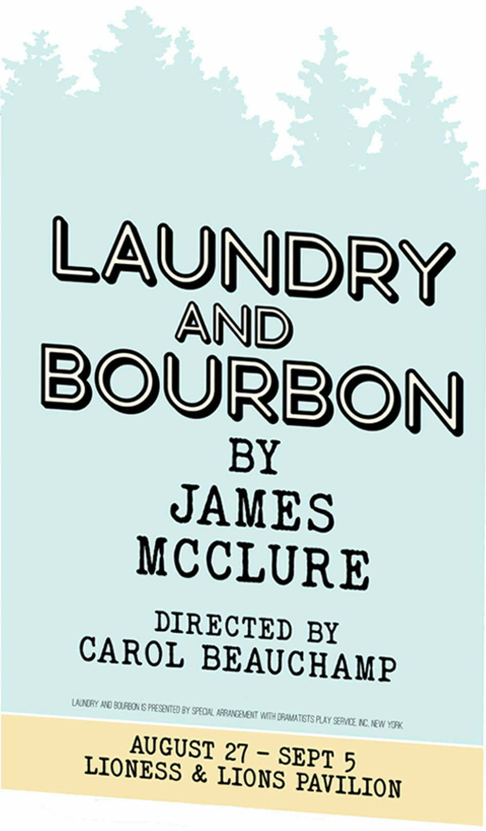 Poster for Laundry and Bourbon